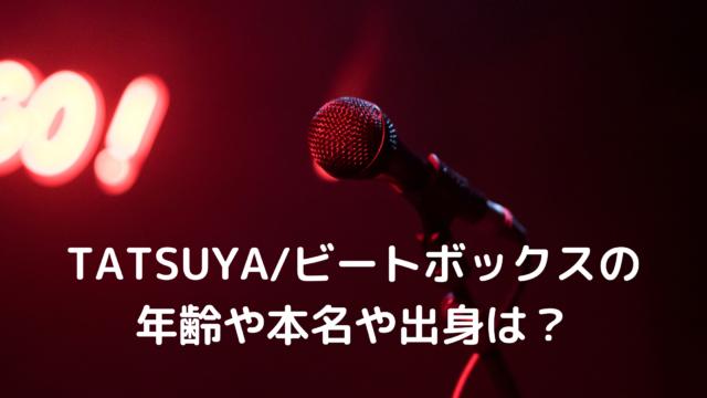 TATSUYAビートボックス