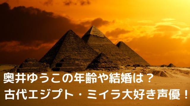 ミイラ奥井ゆうこ
